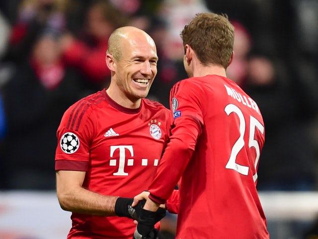 Result: Ruthless Bayern thump 10-man Besiktas