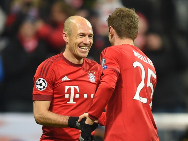 official photos 0229f d2e77 Arjen Robben left out of Bayern Munich squad to face Real ...
