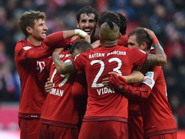 Result: Bayern Munich move 11 points clear at Bundesliga