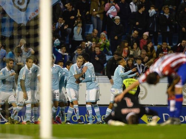 Result: Late Nolito strike earns Celta Vigo win