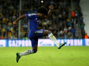 Chelsea net four to thrash Maccabi