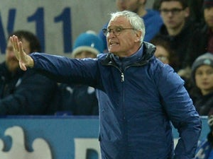 Leicester City's Italian manager Claudio Ranieri gestures during the English Premier League football match between Leicester City and Manchester United at the King Power Stadium in Leicester, central England on November 28, 2015.