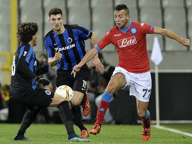 Result: Napoli maintain 100% record with win