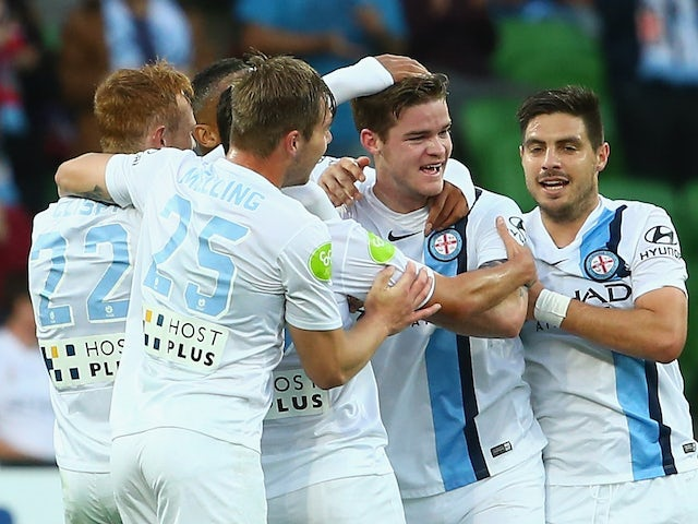 Result: Melbourne City hit five past Perth Glory