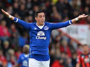 Funes Mori, Lukaku give Everton lead