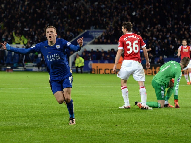 Result: Vardy breaks record as Leicester, United draw