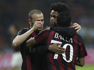 Team News: Bacca, Adriano lead line for Milan
