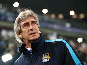 Manchester City's Chilean headcoach Manuel Pellegrini looks on before the UEFA Champions League football match Juventus vs Manchester City on November 25, 2015