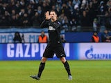Paris Saint-Germain`s Swedish forward Zlatan Ibrahimovic reacts as he is substituted during the UEFA Champions League Group A, second-leg football match Malmo FF vs Paris Saint-Germain (PSG) in Malmo, Sweden on November 25, 2015