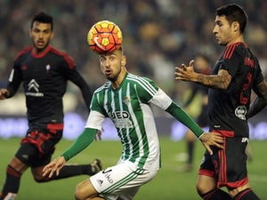 Real Betis hold 10-man Celta Vigo