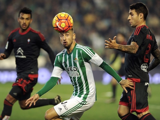Result: Real Betis hold 10-man Celta Vigo