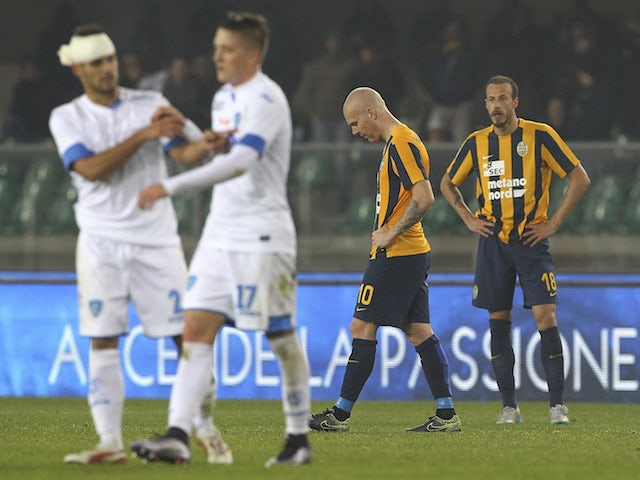 Result: Empoli edge past Hellas Verona