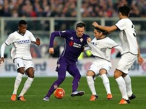 Fiorentina ahead against Udinese