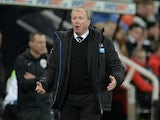 Newcastle United's English head coach Steve McClaren reacts during the English Premier League football match between Newcastle United and Liverpool at St James' Park in Newcastle-upon-Tyne, north east England, on December 6, 2015