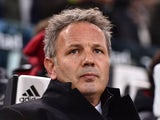 AC Milan head coach Sinisa Mihajlovic looks on during the Serie A match between Juventus FC and AC Milan at Juventus Arena on November 21, 2015