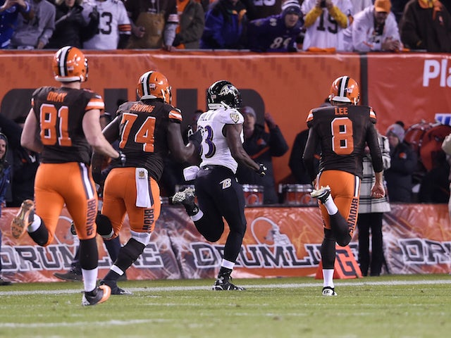 Result: Late Will Hill touchdown stuns Browns