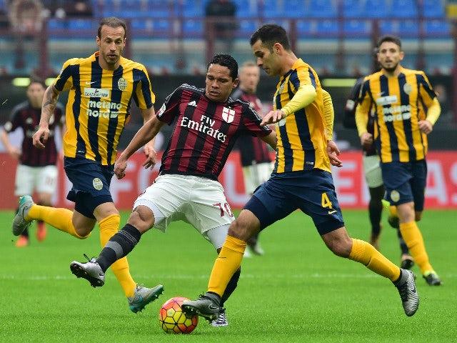 Result: AC Milan held by Hellas Verona