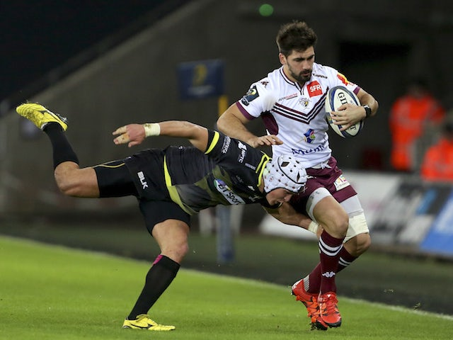 Result: Ospreys edge out Bordeaux Begles
