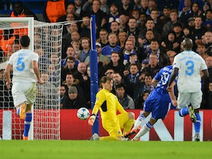 Chelsea ahead through Marcano own goal
