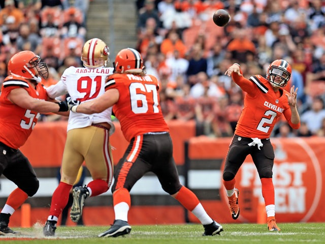 Result: Browns stop the rot with 49ers win