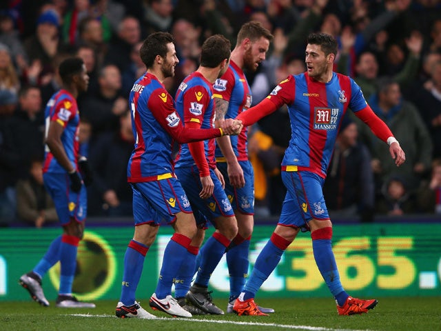 Result: First-half Cabaye goal gives Palace win
