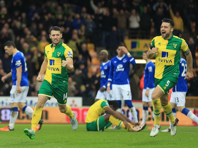Result: Wes Hoolahan rescues draw for Norwich
