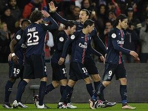 Ibrahimovic, Aurier give PSG lead