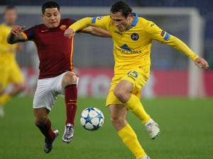 Roma go through after BATE draw