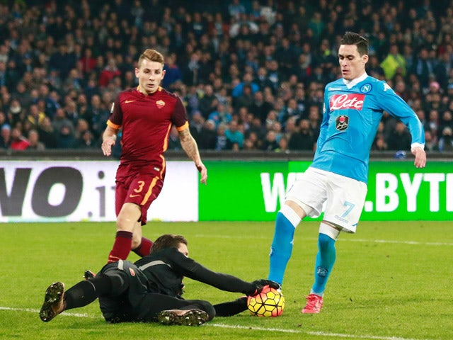 Result: Roma hold off Napoli barrage in draw