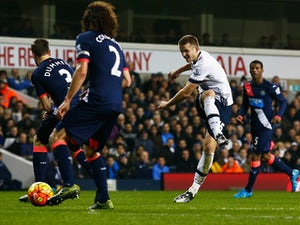 Dier puts Spurs ahead against Newcastle
