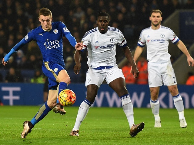 Half-Time Report: Vardy puts Leicester ahead against Chelsea