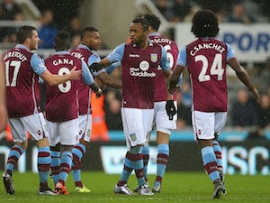 Villa earn point at Newcastle
