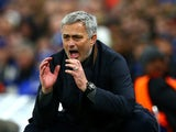Chelsea manager Jose Mourinho during the Champions League match against Porto at Stamford Bridge on December 9, 2015