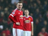 Wayne Rooney reacts as Norwich score a second against Manchester United on December 19, 2015