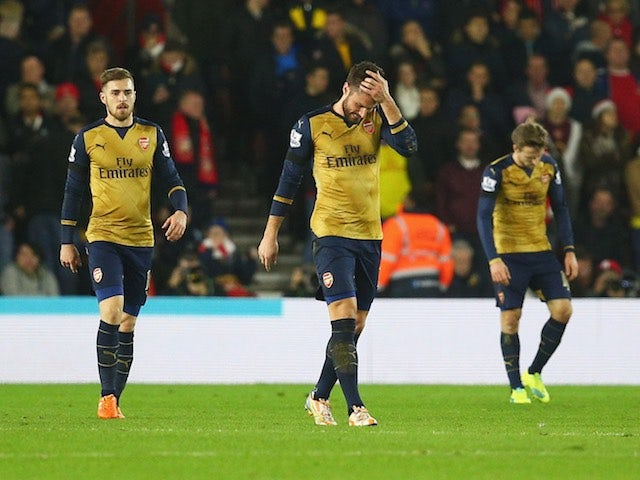 Result: Arsenal miss chance to move top
