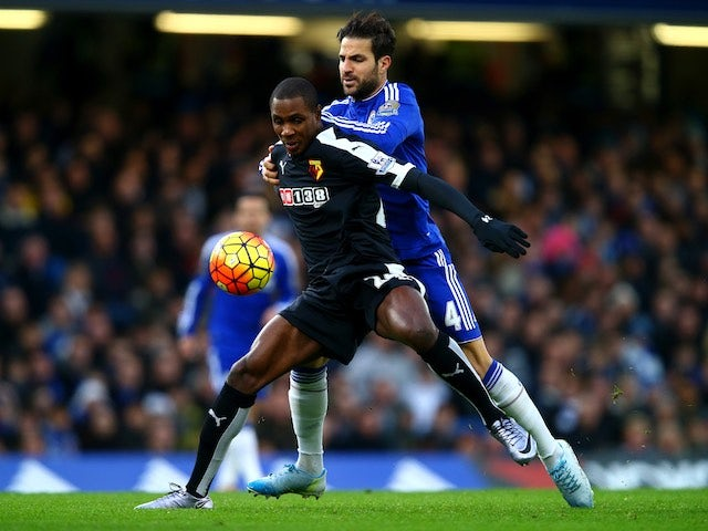 Result: Watford hold Hiddink's Chelsea to draw