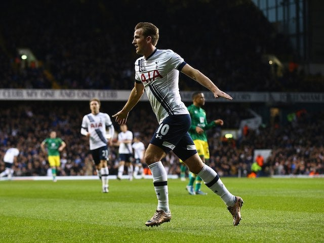 Result: Kane fires Spurs past Norwich