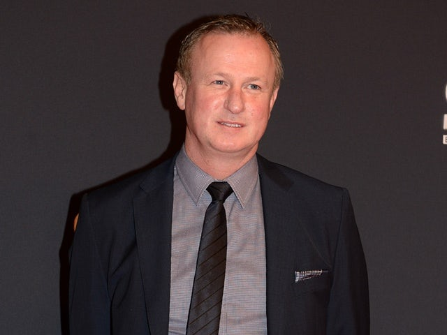 Northern Ireland manager Michael O'Neill at the BBC Sports Personality of the Year awards 2015.