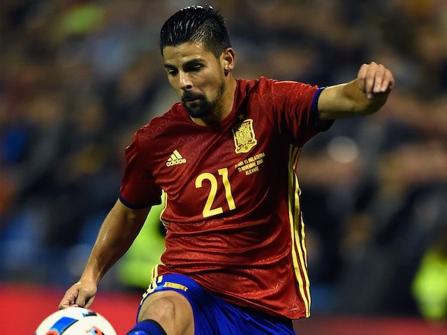 Nolito in action for Spain on November 13, 2015