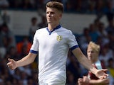 Sam Byram has a little skip while in action for Leeds United on August 8, 2015