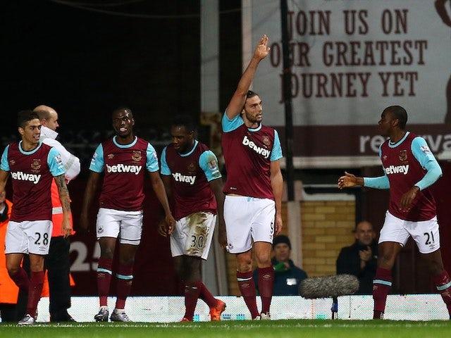 Result: Carroll scores West Ham winner