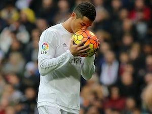 Ronaldo helps Madrid end 2015 on a high