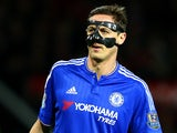 Nemanja 'Bane' Matic during the game between Manchester United and Chelsea on December 28, 2015