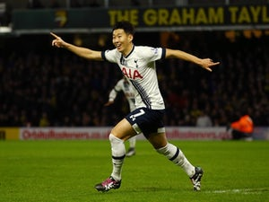 Son helps Spurs to first CL win