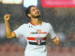 Alexandre Pato in action for Sao Paolo in May 2015