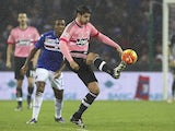 Alvaro Morata in action during the game between Sampdoria and Juventus on January 10, 2016
