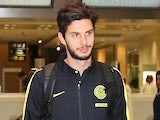Andrea Ranocchia pictured on December 28, 2015