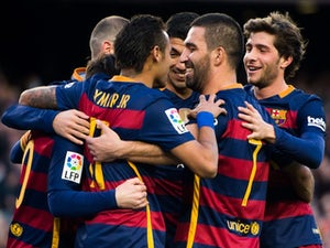 Messi scores hat-trick in Barcelona win