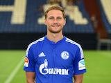 Schalke 04 defender Benedikt Howedes poses for his team photo on July 17, 2015