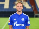 Schalke 04 defender Benedikt Howedes poses for his team photo on July 17, 2015